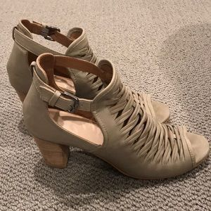 Charles by Charles David leather heeled sandals